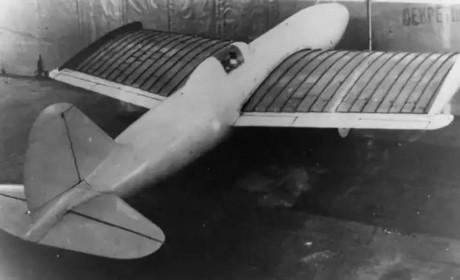 诡异设计:脑洞大开的RK-1伸缩翼试验机