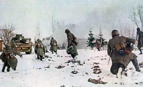 零下40几度,德军几乎没有任何作战和生存所必需的东西
