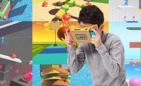 《任天堂Labo 04:VR套裝》IGN 7.9分:「任天堂魔法世界」入门工具