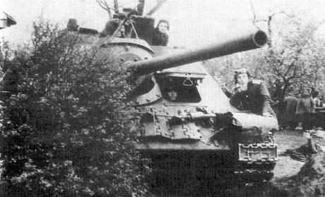 重型坦歼带头突击:解放波兰的最初战斗