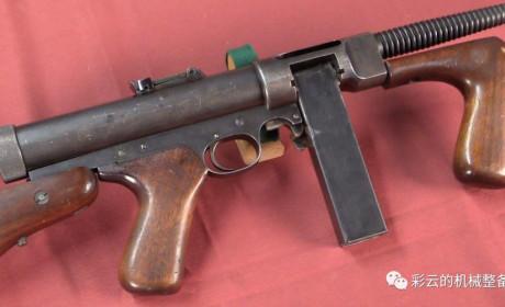 M2海德冲锋枪,你不知道吧?全美国只剩两支能打的。