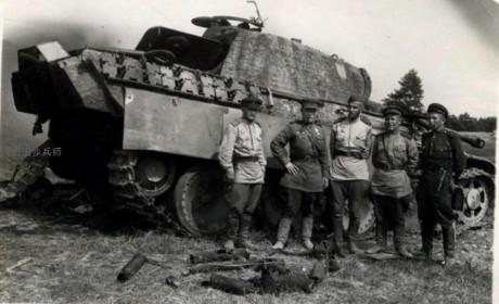 苏军测试德军黑豹坦克:测试与评估的细节