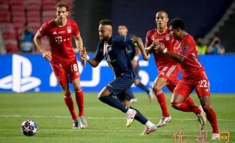 欧冠决赛2020 巴黎圣日耳曼 0 : 1 拜仁慕尼黑