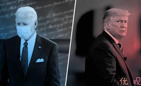 拜登与特朗普对话选民 政治家与政治流氓