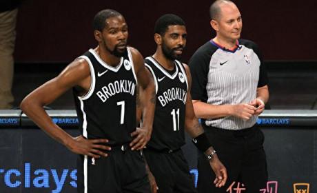 NBA热身赛篮网双星复出 轰33分夺首胜