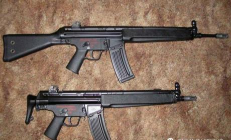 德军未列装的HK33小口径突击步枪家族 中国为何会采购