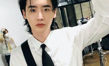 韩国男星微卷长发造型 男神长发颓废美令人着迷