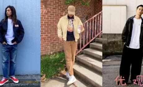 教练外套新型穿搭 学会这三种穿法让你个性十足