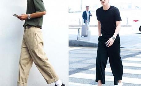 推荐3款适合男生的长裤 锥形裤修身效果极佳