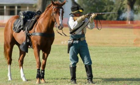 美军仪仗队礼宾枪盘点 仪仗队散装礼宾枪也散装