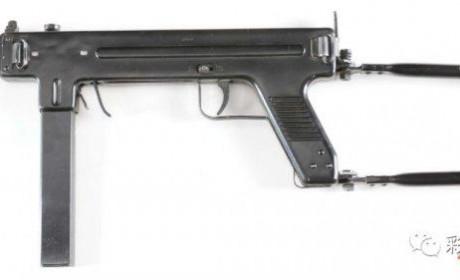 """丹麦麦德森冲锋枪 """"两片壳""""结构的冲锋枪"""