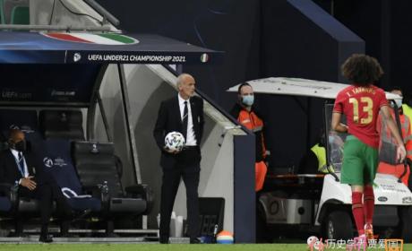 欧青赛1/4决赛 意大利U21国青3比5输给葡萄牙U21国青